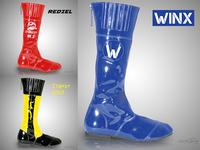 Customized jockey racing boots