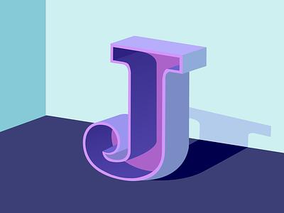 J letter j 36days-j typography 36 days of type lettering vector design illustration 36 days of type
