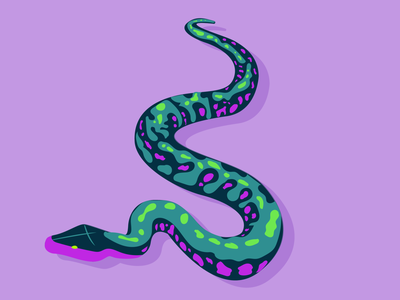S snake 36days typography 36 days of type lettering design vector 36 days of type illustration