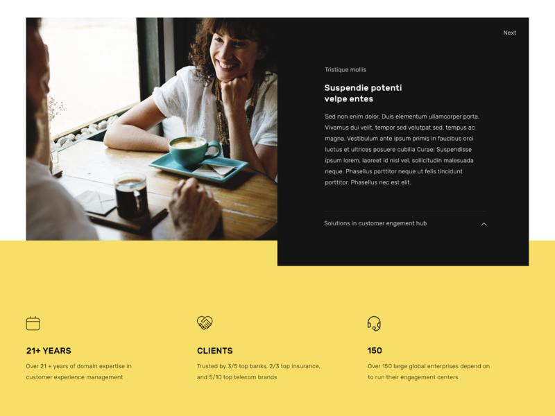 Content Module blog design brand modules ui website design modules