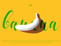 White Banana_Typography