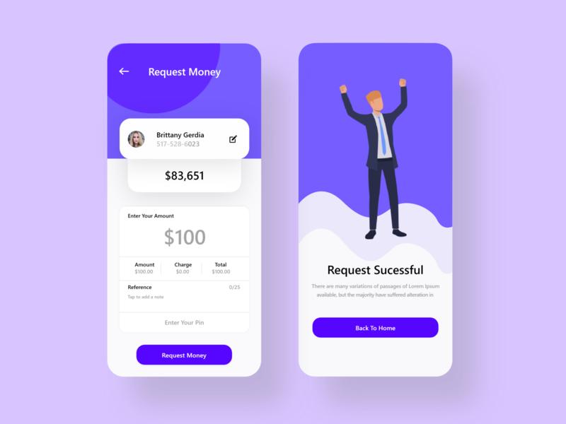 personal finance app design ui design money transfer finance business ui  ux mobile app mobile ui app design typography illustration ux ui analytics dashboard send money finance app