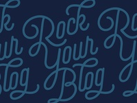 Rock Your Blog Logo