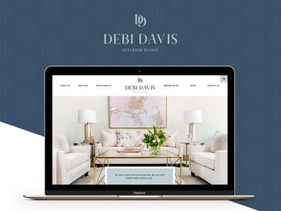 Branding and Website Design for Debi Davis Interior Design