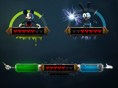 Epic Mickey 2 Video Game - HUD Exploration