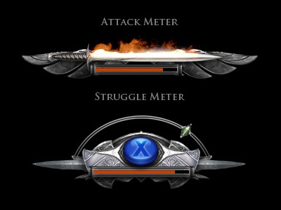 The Lord of the Rings Game UI game meter ui