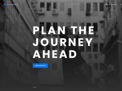 Journey Free Sketch Template website typography minimal ui sketch app sketch
