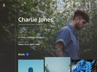 Built with Cabana - User Profile Header portfolio design system sketch app sketch ui