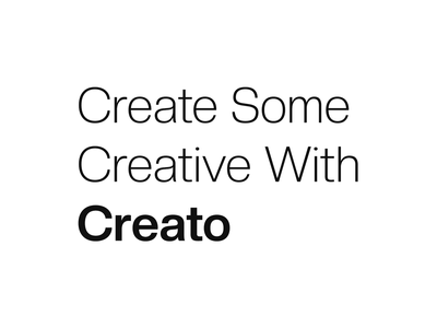 Creato - Free Font free commercial font free commercial swiss typography free sans serif free typeface free font sans sanserif grotesk typeface typography