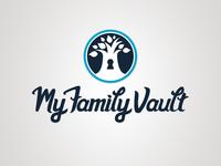 My Family Vault Logo