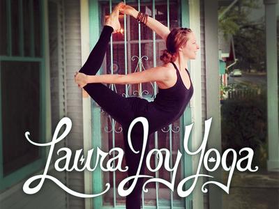 Laura Joy Yoga Logo