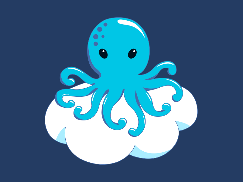 CrossCloud CI Logo logo cloud octopus