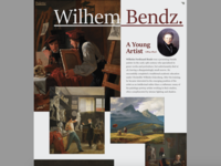 Wilhem Bendz: A Young Artist (Portfolio & Biography)