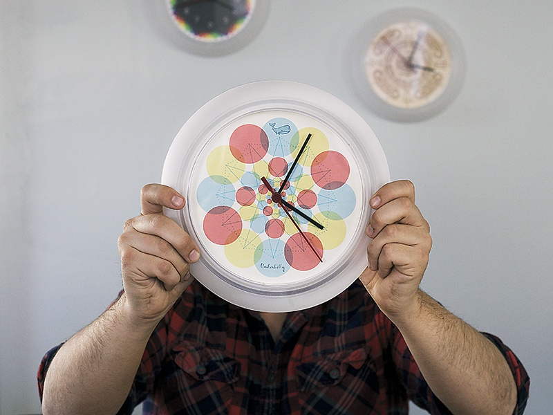 Clock Face clock face time client gift