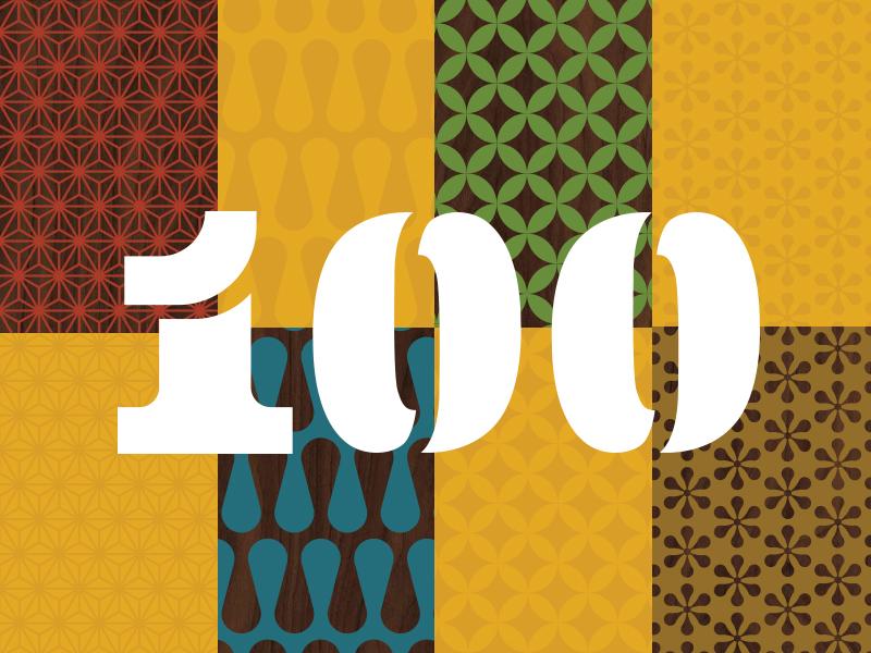 100 Show Freebie 100 show aiga patterns mid-century free freebie ai