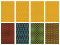 Mid century patterns preview