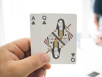 Playing cards are on sale!