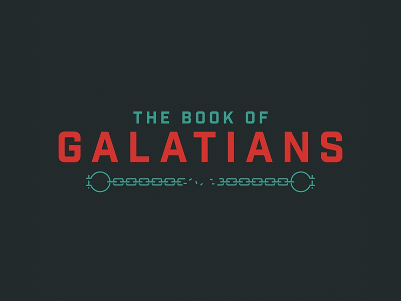 The Book of Galatians shackles chain bible galatians
