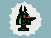 Anubis Dog Head