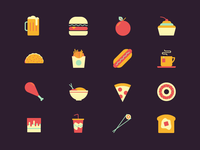 Little Food Icons