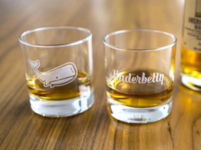 Underbelly Whiskey Glasses