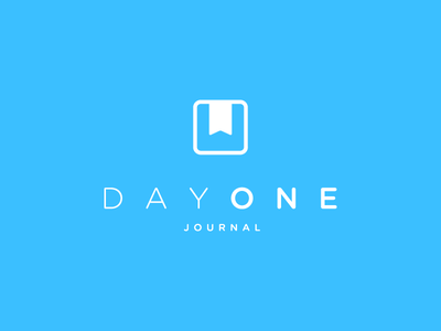 Day One One Color branding logo one color day one