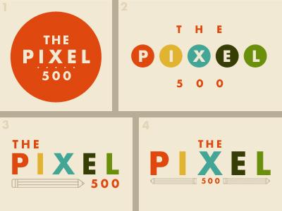 The Pixel 500 logo ideas