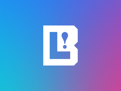 BL! exclamation point monogram