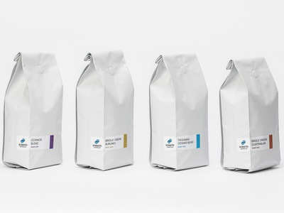Sumato Labels labels coffee branding
