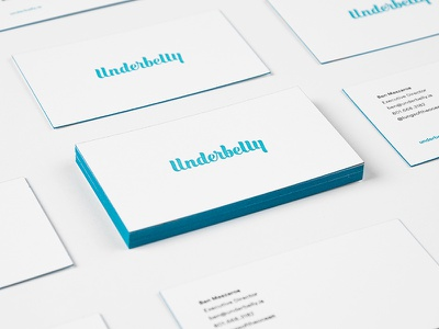 Underbelly Business Cards underbelly business card