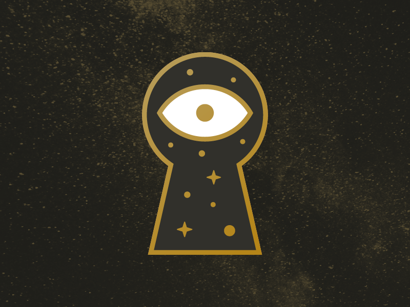 Cosmic Curiosity keyhole cosmic cosmos space key eye