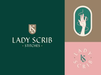 Lady Scrib Rebrand
