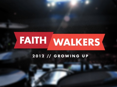 Faithwalkers 2012 conference faithwalkers gcc christianity futura banner drums