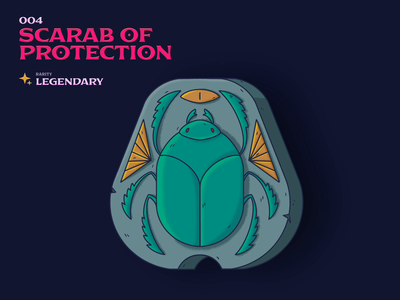 004 Scarab of Protection scarab of protection 5e scarab dnd dndarmory