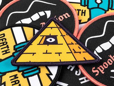 Kinda Seeing Eye Patch all seeing eye pyramid patch