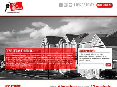 Rent Ready Website