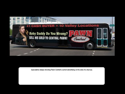 Pawn Central - Full Wrap