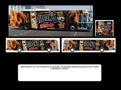 Dillons BBQ - Full Wrap