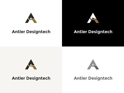 Antler Designtech antler digital marketing agency digital marketing vector promotion illustration design branding logo design