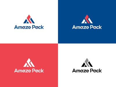 Amaze Pack - Packaging Company packaging design box cargo logo design typography vector promotion graphic design social media illustration design branding