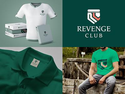 Revenge Club_Fabric Mockup illustrator logo mockup logo promotion digital marketing graphic design social media illustration design branding