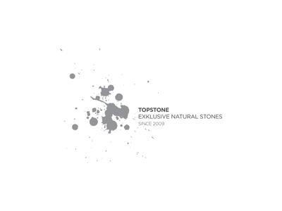 TOPSTONE / Exklusive Natural Stones identity corporate branding logo simple design minimal