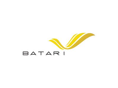 BATARI minimal design logo branding simple corporate identity