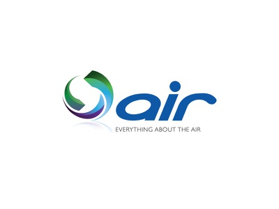Air corporate simple minimal identity branding design logo