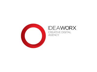 Idea Worx Creative Digital Agency design corporate logo identity minimal simple branding