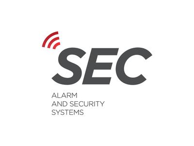 SEC logo design minimal simple corporate branding identity