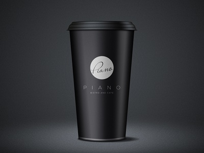 Coffee Cup simple logo branding identity minimal design corporate