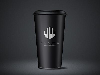 Coffee Cup identity logo branding corporate design simple minimal