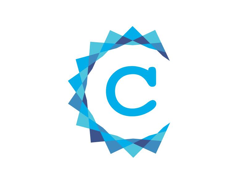 C Logo By Superdeluxesam Dribbble