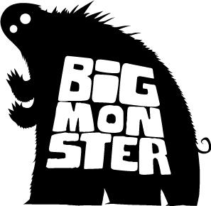 Big Monster Logo logo monster illustration cartoon design band music simple graphic